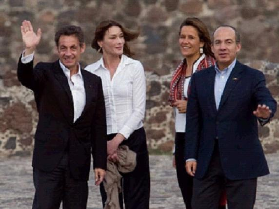 SarkozyBruniMexique